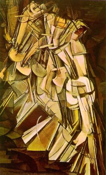 Marcel Duchamp's Nude Descending a Staircase, 1912. Image: invisiblebooks.com