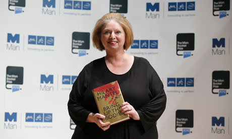 Hilary Mantel at the 2012 Man Booker Prize. Image: guardian.co.uk