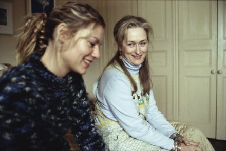Claire Danes as Julia and Meryl Streep as Clarissa in The Hours. Image: imbd.com