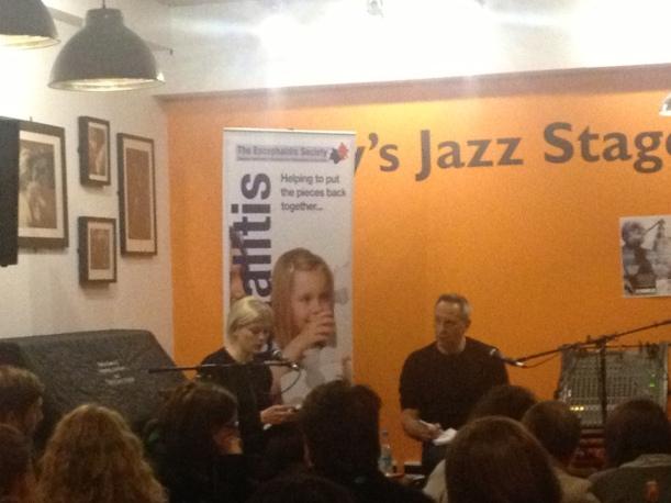 Susannah Cahalan at Foyles