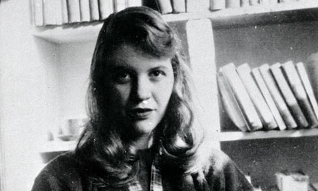 Sylvia Plath. Image: guardian.co.uk