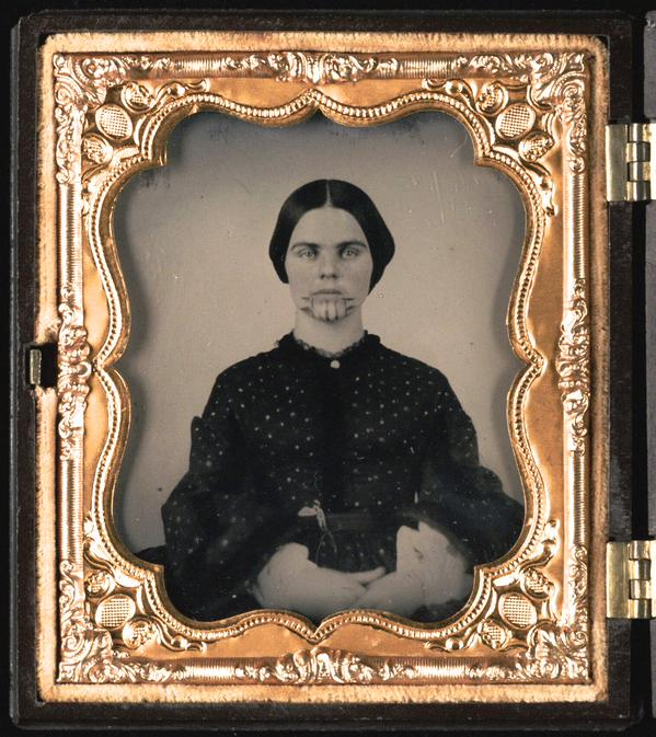 Olive shortly after her 'return' in 1856 (image: twitter.com)