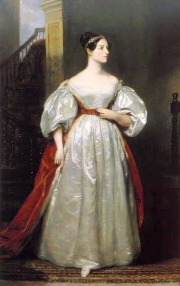 Possibly the most famous portrait of Ada, from 1836. (image: wikipedia.com)