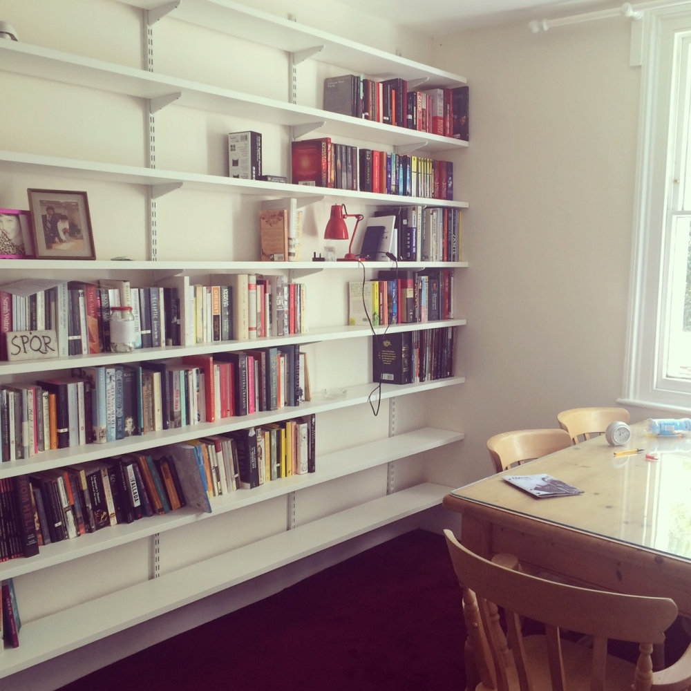 A new home for me and my books