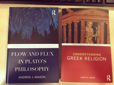Two books I worked on that were recently published *proud*