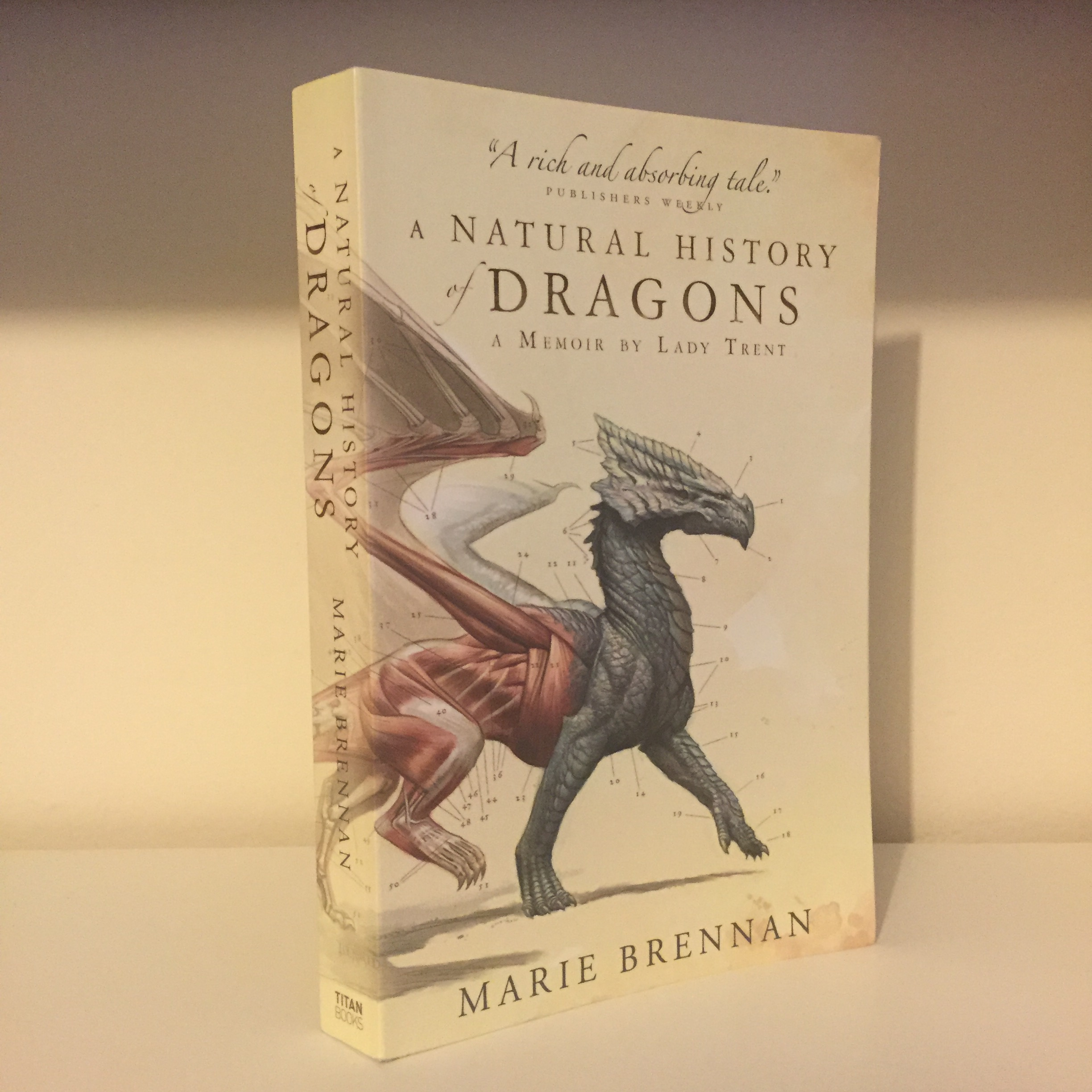 Exploring genres with A Natural History of Dragons by Marie Brennan